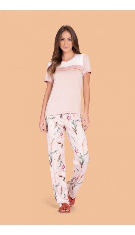 Pijama Comfort All Blooms