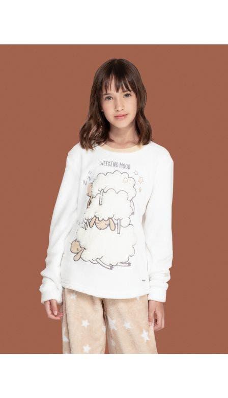 Pijama Fleece Kids Lazy Sheeps