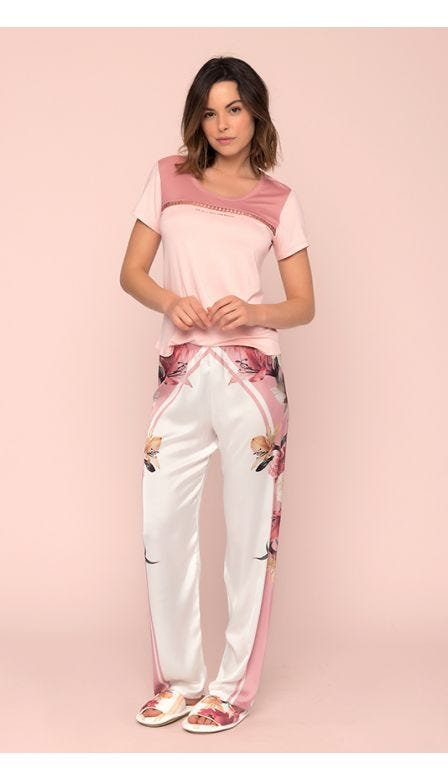 Pijama Calça Floresce