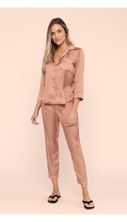 Pijama Aberto Especial Bronzed Shine