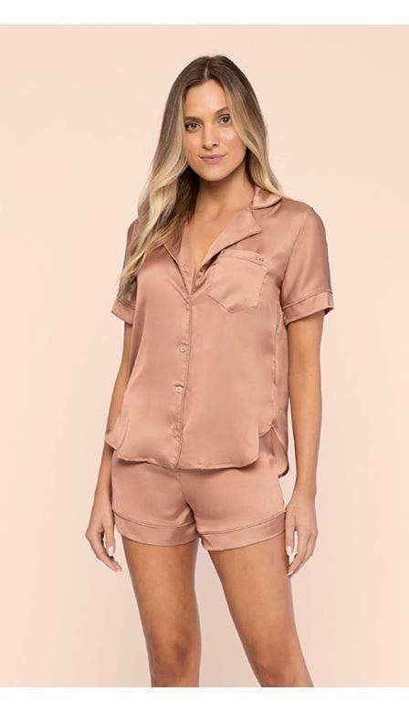 Pijama Aberto Bronzed Shine