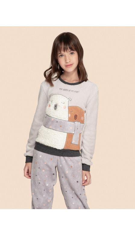 Pijama Fleece Kids Better Together