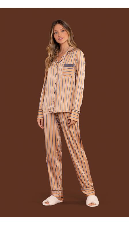 Pijama Aberto Dream Gold