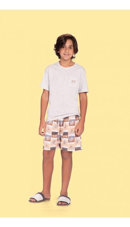 Pijama Masculino Infantil Instabear