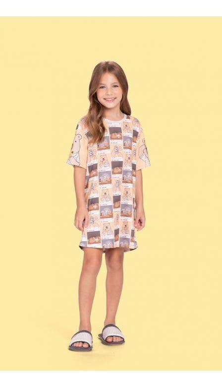 Dress Infantil Instabear