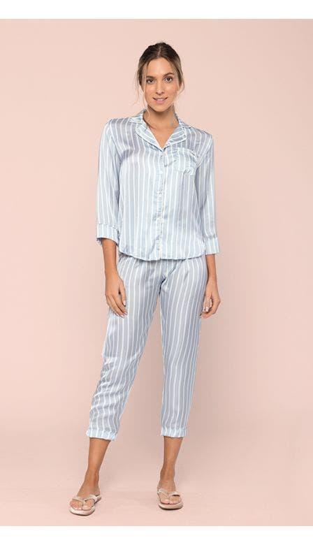 Pijama Aberto Especial Classic Sky