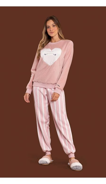 Pijama Fleece With Love