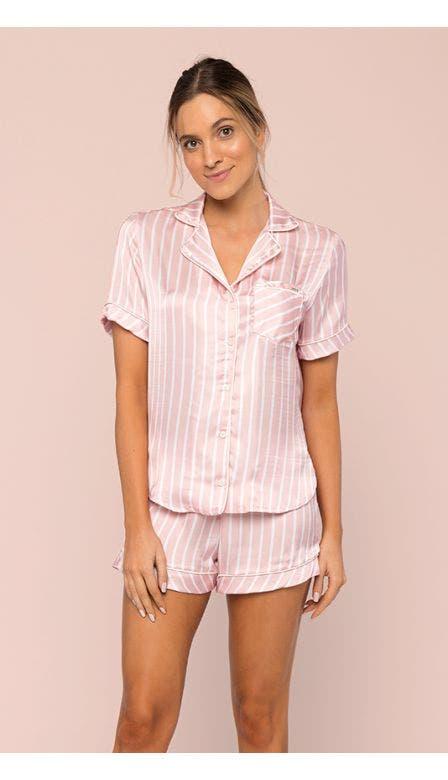 Pijama Aberto Candy Rose