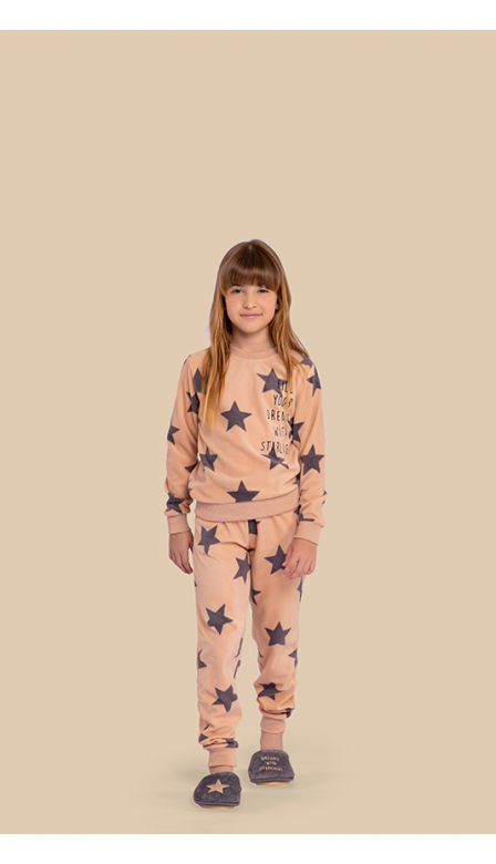 Pijama Fleece Infantil Starlight