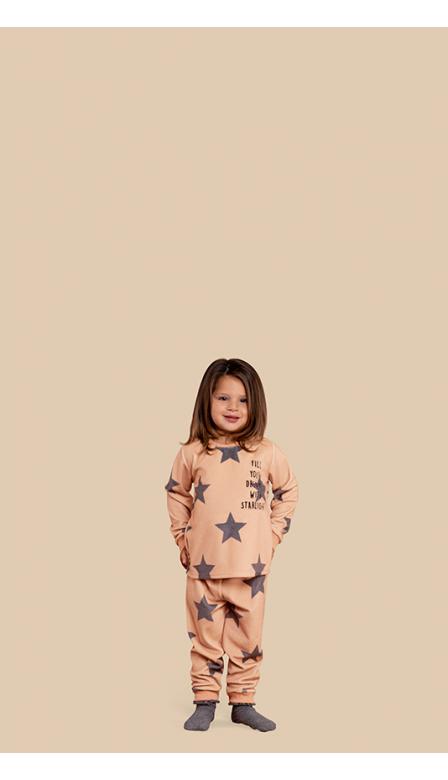 Pijama Fleece Baby Starlight