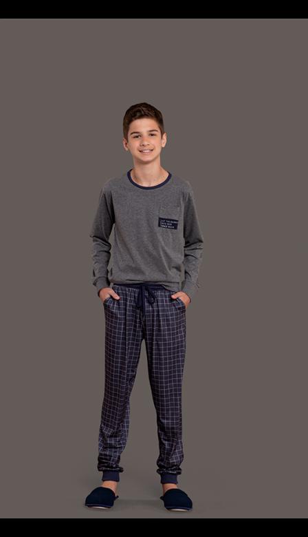 Pijama Masculino Infantil Space Journey