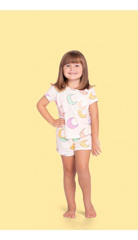 Pijama Curto Baby Moony