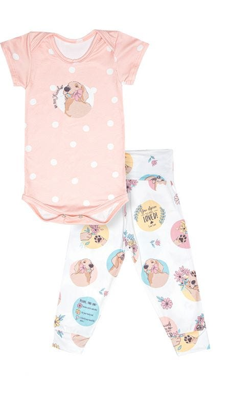 Pijama Baby Born Bem Me Quer