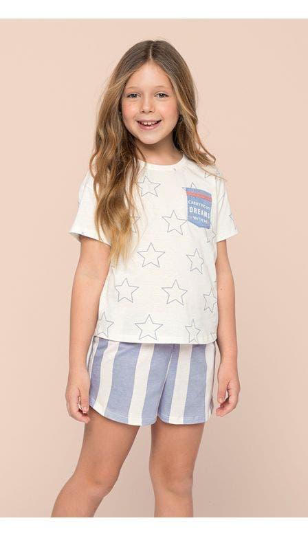 Pijama Curto Kids Meu Sonho