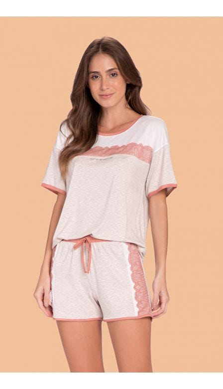 Pijama Curto Comfy Day
