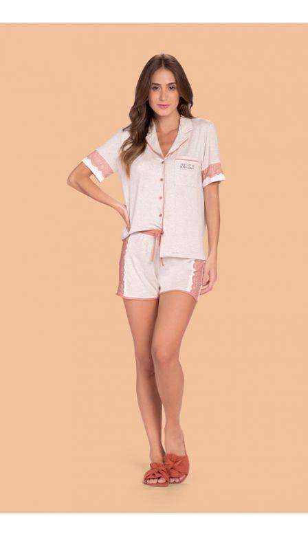 Pijama Aberto Comfy Day