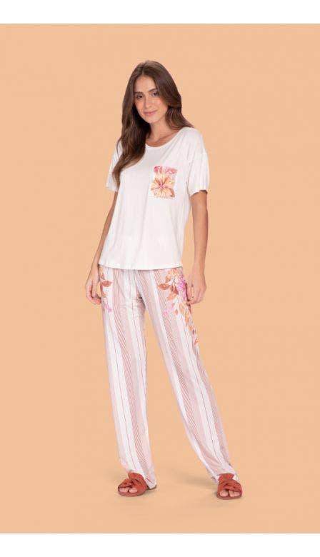Pijama Comfort Classic Garden