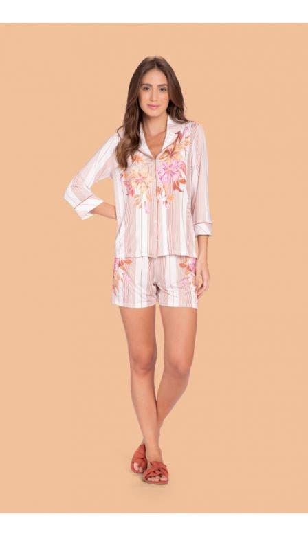 Pijama Aberto Classic Garden
