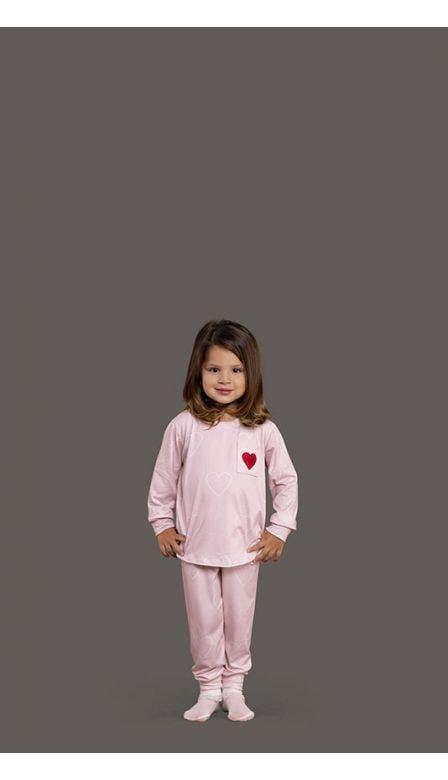 Pijama Baby Girl All Heart