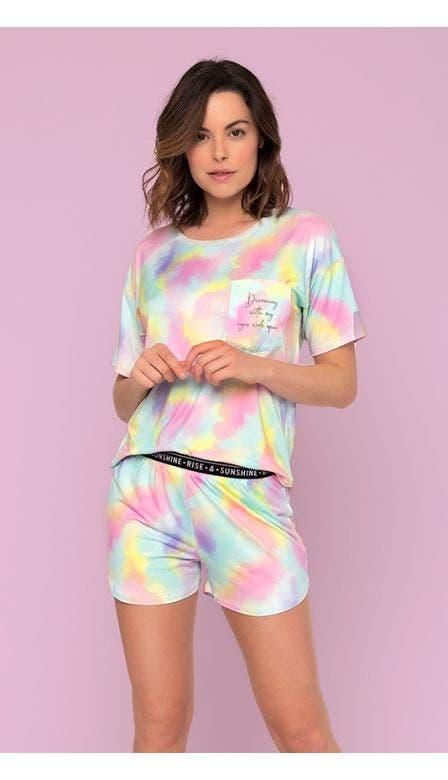 Pijama Curto Aquarius