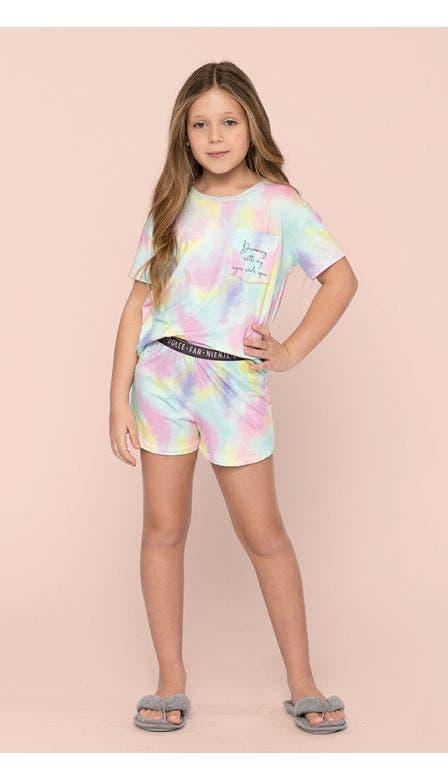 Pijama Curto Kids Aquarius