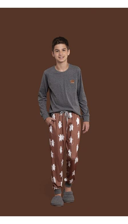 Pijama Masculino Infantil  Keep Moving