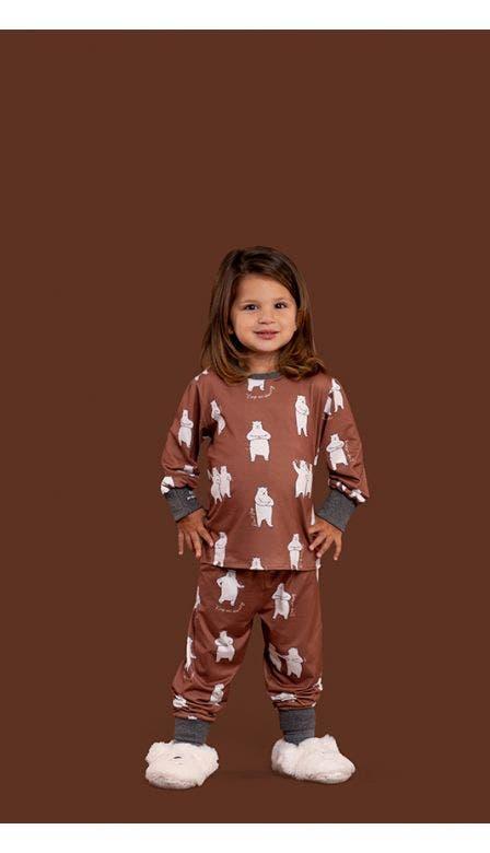 Pijama Baby Girl Keep Moving