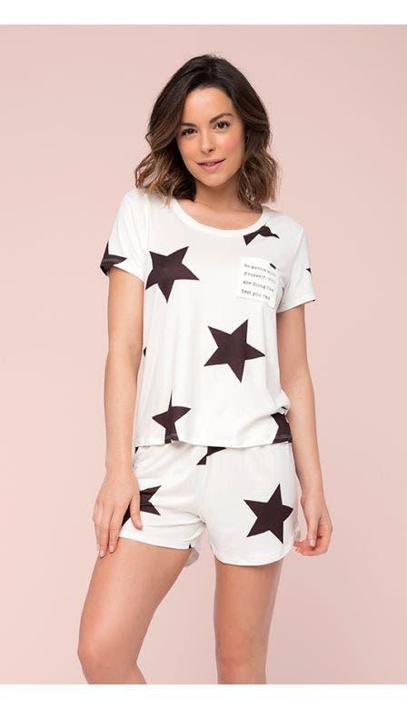 Pijama Curto Anoitecer