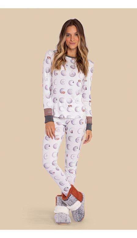 Pijama All Print A Moonment