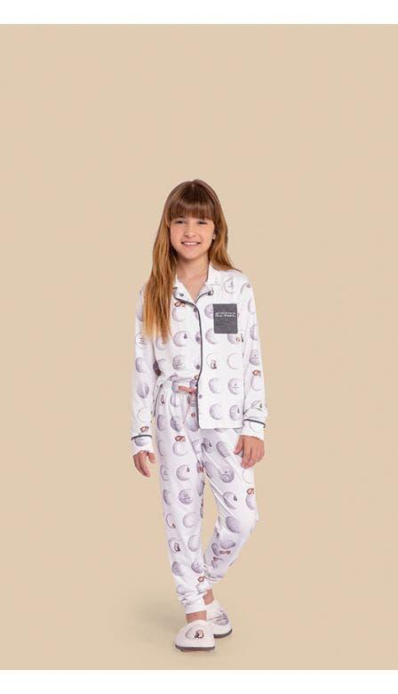 Pijama Aberto Infantil A Moonment