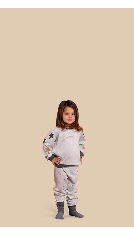 Pijama Baby Shiny Stars