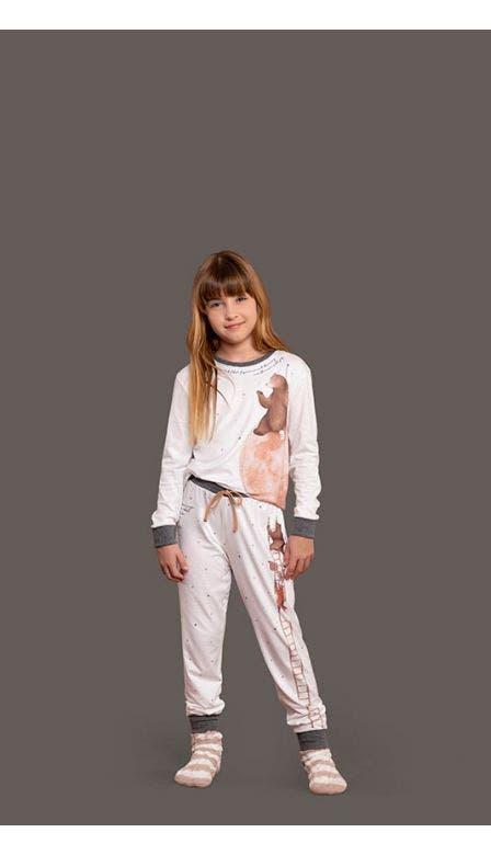 Pijama Comfort Infantil Lunar Friends