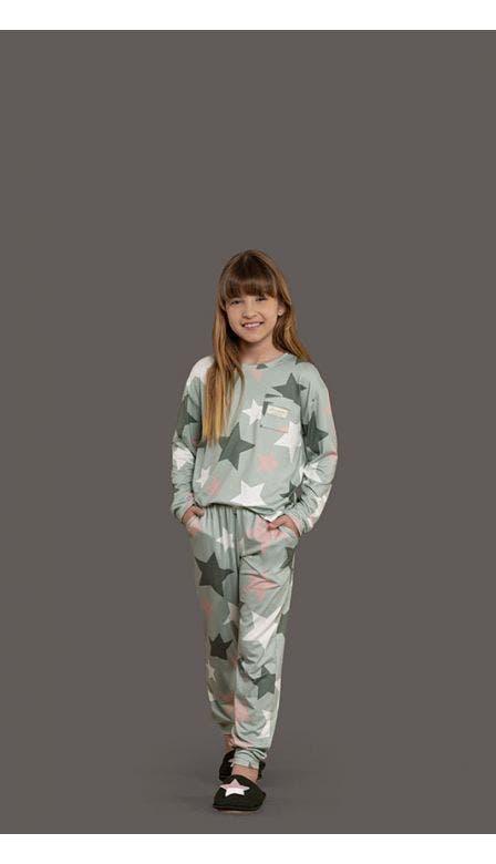 Pijama Comfort Infantil Magic Forest