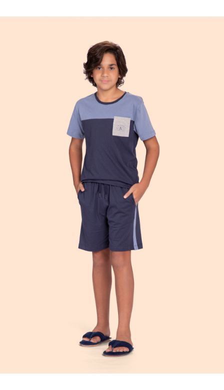 Pijama Masculino Infantil Time To Chill