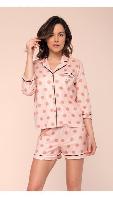 Pijama Aberto Som Do Coração