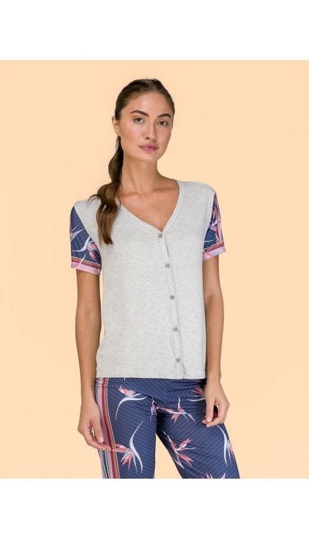 Pijama Aberto Color Wings