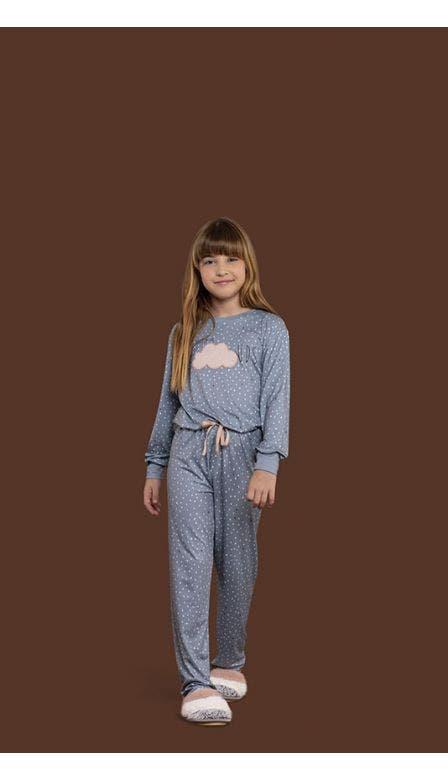 Pijama Comfort Infantil Let it Rain