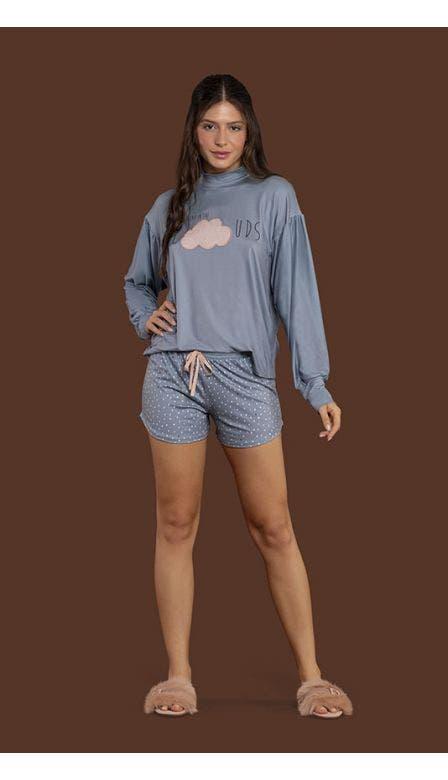 Pijama Short Let it Rain