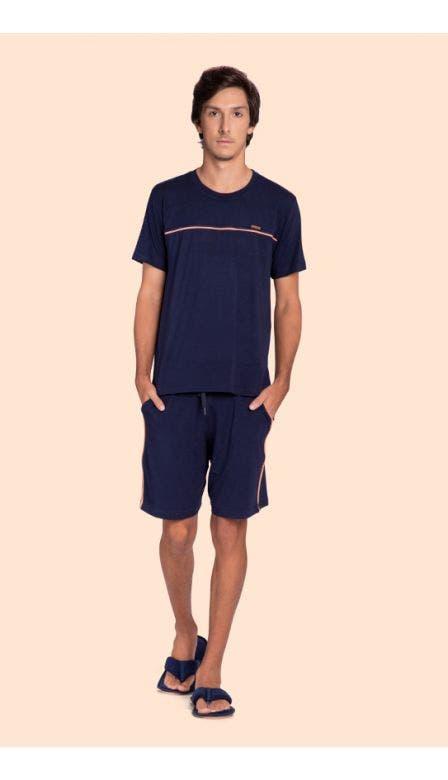 Pijama Curto Masculino Minimalist