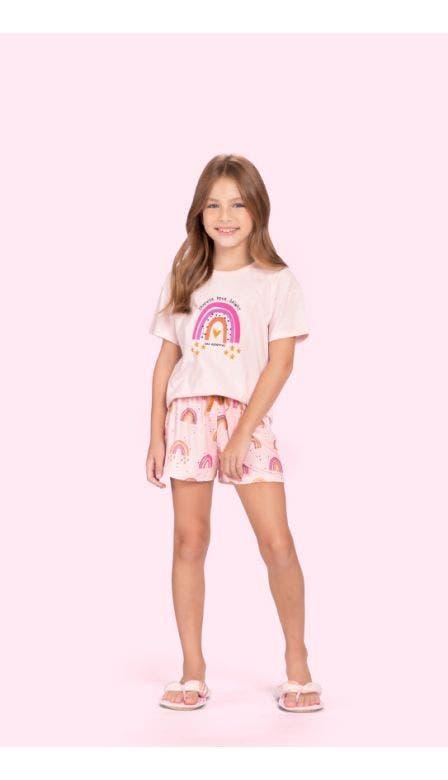 Pijama Curto Infantil Sweetness