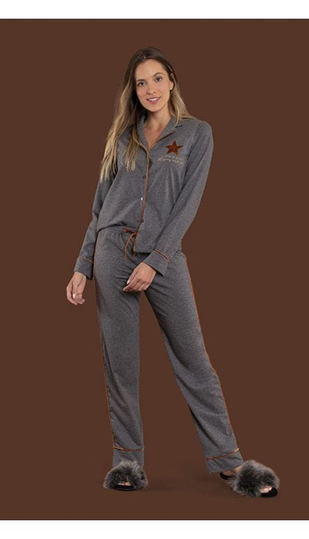 Pijama Aberto Light Shines