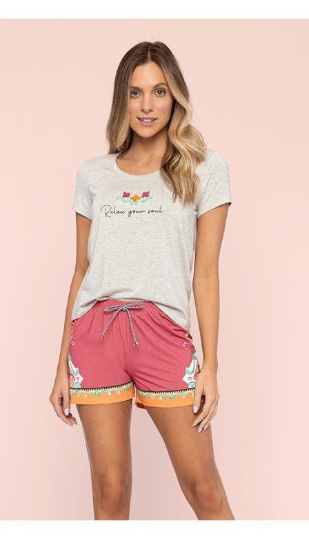 Pijama Curto Azaléia