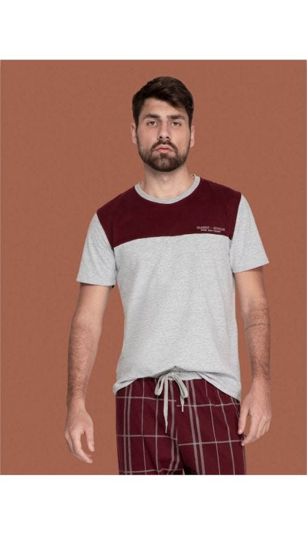 Pijama T-Shirt Masculino Classic Edition