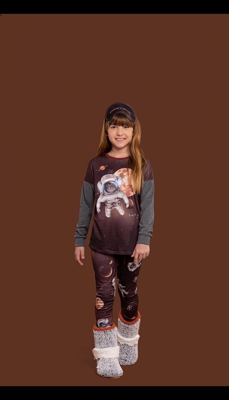Pijama Legging Infantil Petnautas