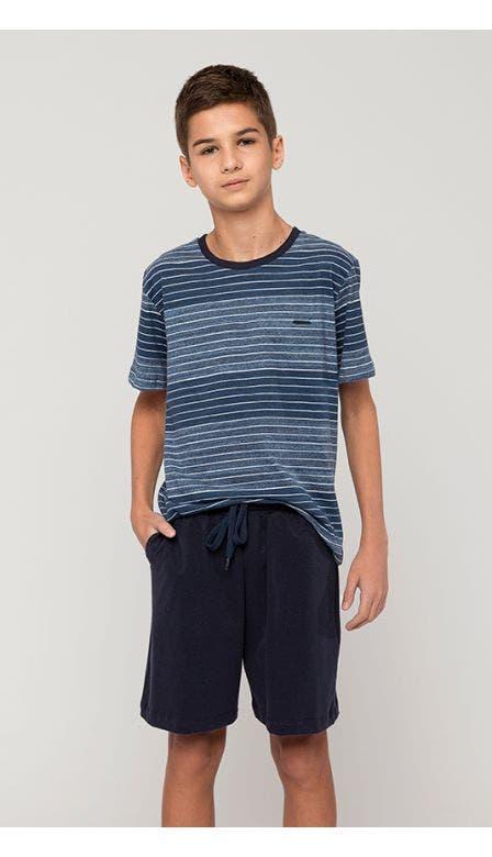 Pijama Masculino Kids Indigo