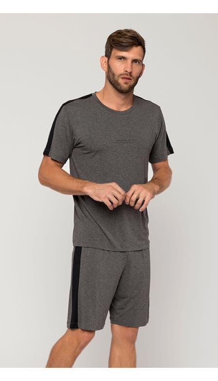 Pijama Curto Masculino Farol