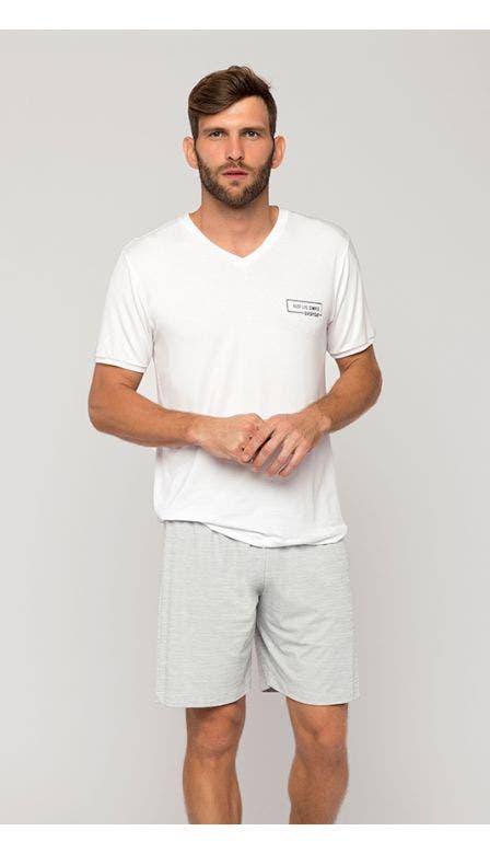 Pijama Curto Masculino Oásis