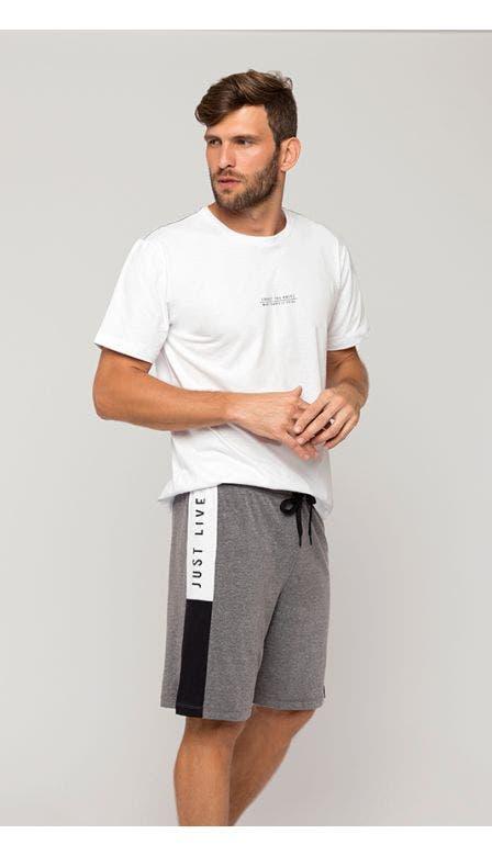 Pijama Curto Masculino Refúgio