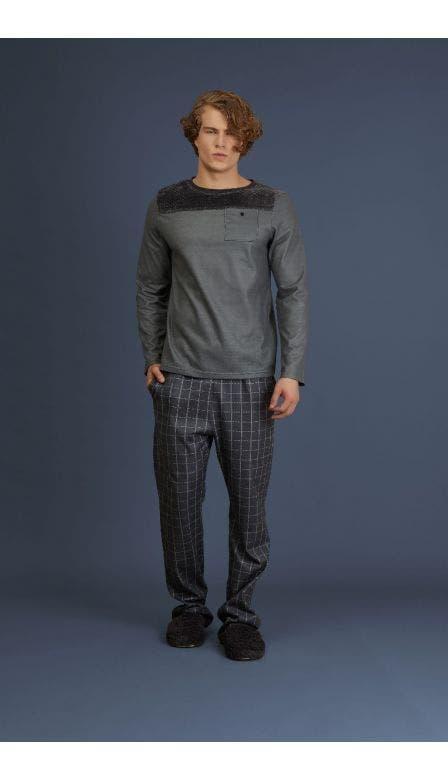 Pijama Soft Masculino Cabin 8